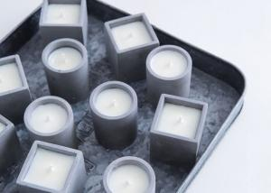 Concrete Candle Holder Silicone Mold Cement Planter Candlestick Aromatherapy Candle Cup Molds