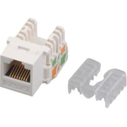 China Home Network Cat6 RJ45 keystone jack IDC CE 8P8C Golden Pin modular jack on sale