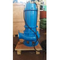submersible sewage pump use on dirty water WQ