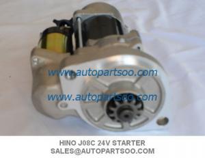 China Brand New J08C Starter Motor For Hino FD JO8C 2Bolt 24V supplier