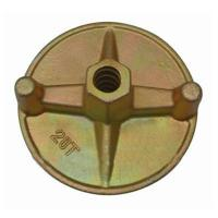 CE Scaffolding Accessories , Formwork forged wing nut φ17 /  160kn for tie rod