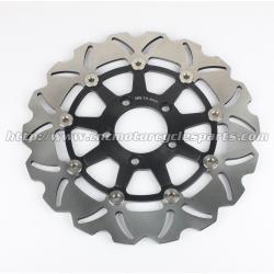 China Aluminum Floating Motorcycle Brake Disc Rotor For Street Bike Parts Wave on sale