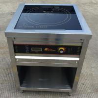 9KW Commercial Induction Cooker , Freestanding Induction Hob Rotary Switch