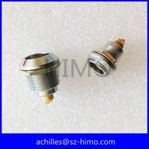 China Metal 4 pin equivalent lemo car cable connector supplier