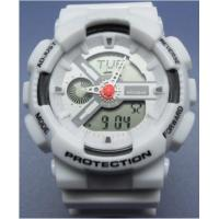 G Shock Sports Analog-digital Watches Large Face Silicone Rubber Band