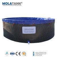Molatank Flexible and Foldable PVC Tarpaulin Aquarium Fish Farming Tank with Competitive Price