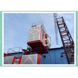 China Passenger Material Construction Hoist Equipment With Fall To Automatic Braking on sale