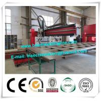 Corrugated Box Beam Production Line Dump Truck Panel , H Beam Welding Line
