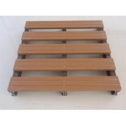 China WPC Waterproof Wood Plastic Composite Pallet Decking for Shipping on sale