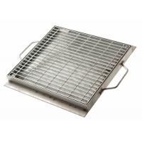 Smooth Flat Surface Sump Grate Cover , Durable Flowforge Steel Grating Cover