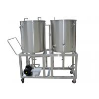 Bar Stainless Steel CIP System With Recycle Water Tank , CIP Pump Long Service Life