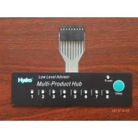 Copper Film Embossed Flexible Push Button Membrane Switch with LED / FPC Circuit