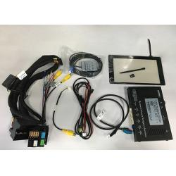China AUDI A4 MIB2 Navigation Car Video Interface Kit Integrated With Tough Screen on sale