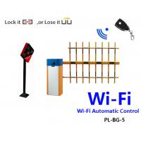 Wi-Fi Automatic Parking Barrier Gate with 4 meters 3 Fence Boom for Train station PL-BG-5