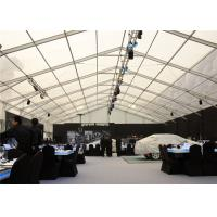 Car Promotional Exhibition Stand Tent Multi Sizes Wirerope Further Strengthened