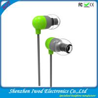 2014 coolest fashionable item branded handsfree communication flat cable earphone for promotion