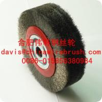 Crimped Stainless Steel Circular Brushes for machine