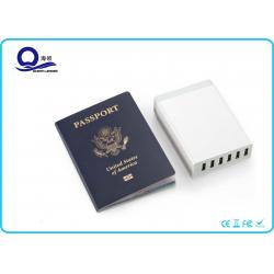 China 50W 10A USB Desktop Charging Station Smart USB Charger with Six Ports for Fast Charging on sale