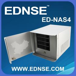 China ED-NAS4 Network Attached Storage Server Case with 4 Bay Hot Swap on sale