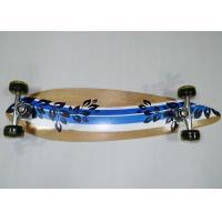Kids Stable Maple Wood Plain Skateboards with PVC Cushion / Aluminum Truck