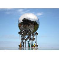 Giant Decoration Outdoor Football Sculpture In The City With Custom Size