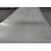 5052 5083 H12 H14 Ribbed Embossed Aluminum Sheet  / Aluminum Tread Plate For Ship