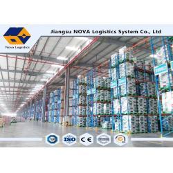 China Industry Adjustable Pallet Warehouse Racking Powder Coated / Galvanization Finish on sale