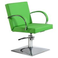 Wholesale hydraulic hairdressing chair for salon use;green barber chair;durable styling chair