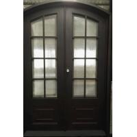 Arched Top Wrought Iron Door Modern style French Door