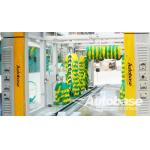 Car wash equipment with three drying blower fans, rollover wash systems