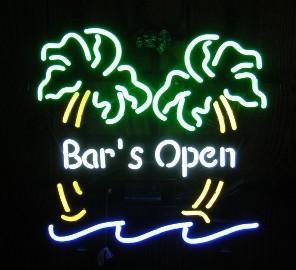signs beer neon sign outdoor leinenkugel open antique