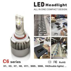 China CE / RoHS Approved Luxeon MZ Car LED Headlight Bulbs 3000LM 3000K - 6000K on sale