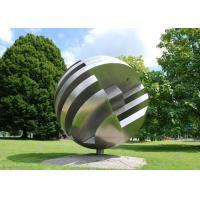 Large Garden Ball Outdoor Metal Sculpture Stainless Steel Sculpture