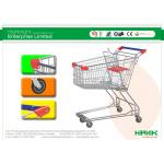 Easy Handling Supermarket Shopping Trolleys Y Asian Style Series HBE-Y-75L