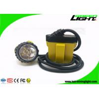 25000 Lux 10.4Ah Underground Coal Mining Lights 3W With Low Power Warning Function