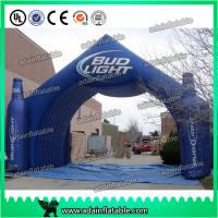 Beer Or Coke Cola Small Bottle Shaped Outdoor Advertising Inflatable for promotional