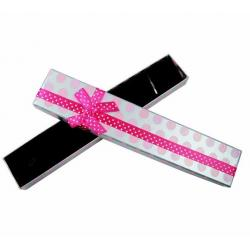 China Long Bracelet Necklace Jewelry Cardboard Boxes / Colorful Cardboard Gift Boxes on sale