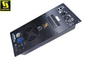 China 1x650W Class D Plate Amplifier with Processor For 12 Inch Full Range Speakers supplier