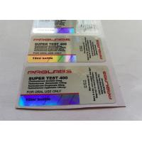Prolrbs Laser materail For 10ml Vial Customized Design Labels