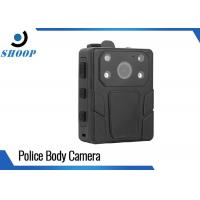 Body - Worn Law Enforcement Body Camera Water Resistant With 2 IR Lights