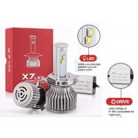 Automotive H4 6000K Latest Led Headlights 120W 9600Lm X7 LED Fog Light Bulb