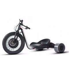 China New design big wheel 1000w 1500w front wheel 3 wheel adult electric drift trike with  lithium battery on sale
