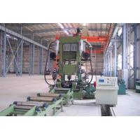 Automatic H Beam Production Line With Assembling / Welding / Straightening Combined