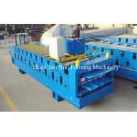 16 -18 Station Free Design Double Layer Roll Former Machine 5 Ton Passive Decoiler