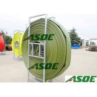 Anti static 4 Inch TPU Layflat Hose for Transferring Oil / Fuel Green color