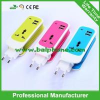 New design Universal World Wide home Charger Adapter Plug with cable