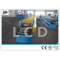 Customized Shelf Rack Roll Forming Machine Cr12 Blade 380V 50HZ Easy Operation