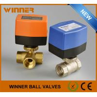 Welded Electric Actuated Ball Valve Medium Pressure Heat Resistant For Industrial