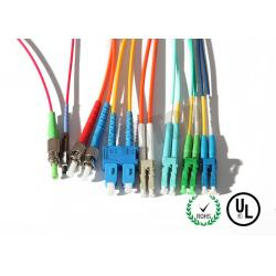 China Yellow Jacket Fiber Optic Patch Cord 10m For Test Equipment / CATV on sale