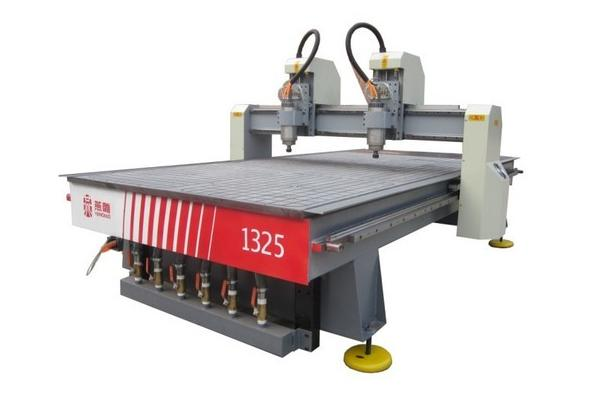 woodworking cnc router wood carving machine Double gantry wood ...